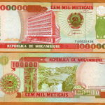 Bộ tiền Mozambican 1980