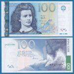 Lydia Koidula – Nữ nhà thơ vĩ đại của Estonia trên tờ 100 Krooni