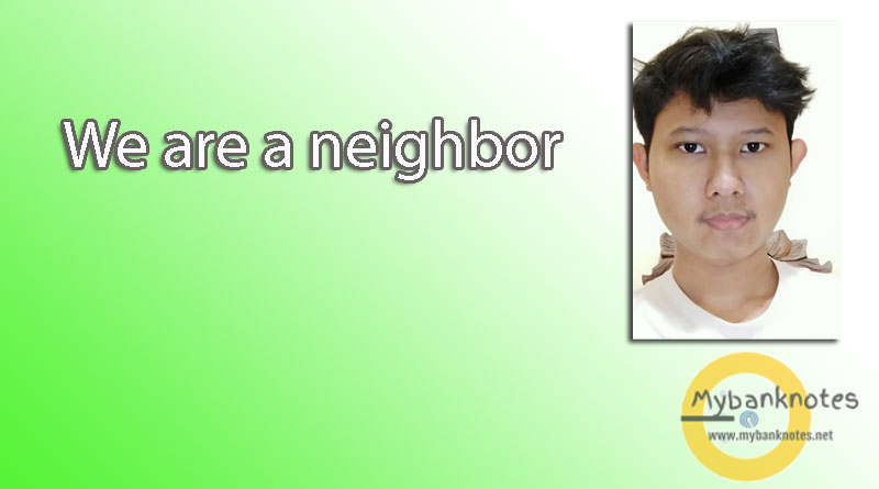 We are a neighbor