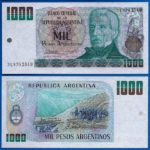 Lịch sử đồng peso argentino của Argentine