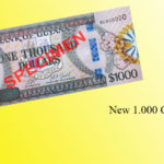 Bank of Guyana issued new banknote of 1,000 dollars