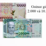 Guinea new 2,000- and 10,000-franc